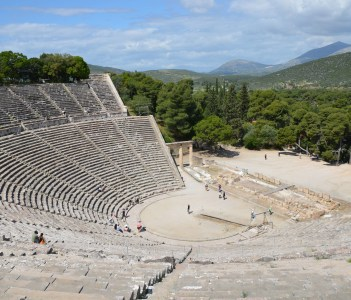 The great theater of Epidaurus