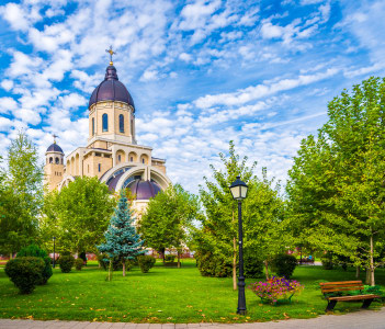 Christian orthodox church Bacau Romania