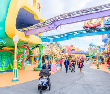 Adventure Island of Universal Studios Orlando