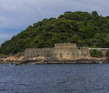 Fortress of Sao Joao da Barra in Rio de Janeiro Brazil