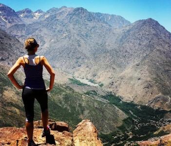 Atlas Mountain view