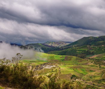 South of Riobamba