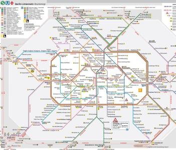 Subway & Train Map