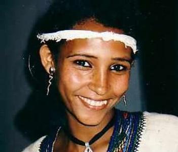Ethiopian dancer