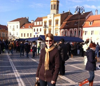 Me in Brasov - one of the nicest city in Romania