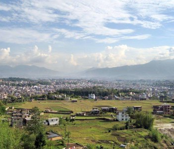 Kathmandu from Kapan