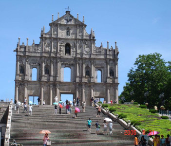 Ruins of St. Paul Church