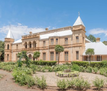 The historic Presidency in Bloemfontein the residence of the presidents of the Orange Free State Republic now a museum