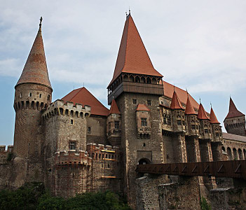 The Castle of Hunedoara