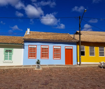 Houses from Mucuge in Brazil