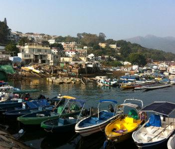 a fishing village