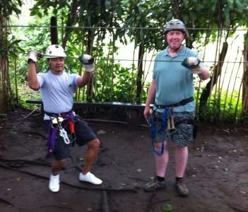 Canopy tour @ Mombacho volcano