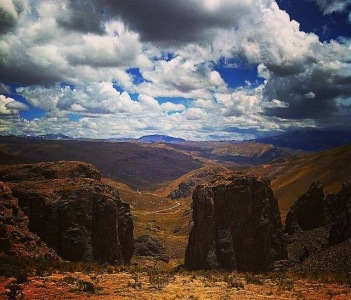The entrance to Colca Valley