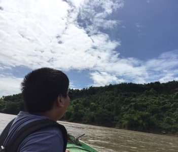 Boat trip to Akauk Taung