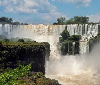 Iguazu Falls in Iguazú National Park  Argentina