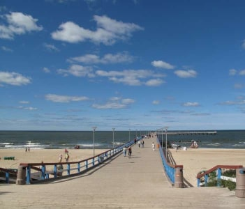 Seafront at Palanga Lithuania