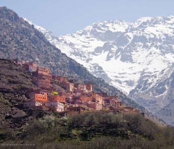 Berber Village & Mount Toubkal