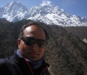 Me (Mukunda Raj Pant) in Everest Region