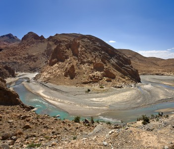 Ziz River and the Ziz Valley Morocco