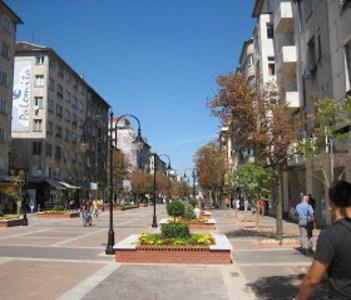 The pedestrian street