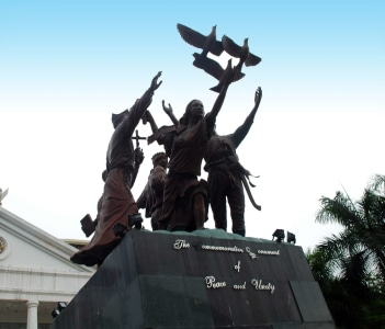Davao City Hall Commemorative Monument Peace & Unity Philippines
