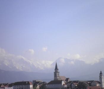 View on Kranj