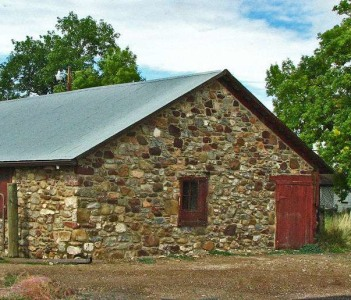 Historic Stone Barn in Colorado