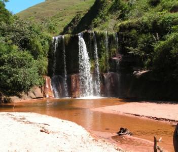 Santa Cruz Waterfall