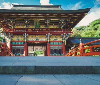 Yutoku Inari Shrine in Saga Japan