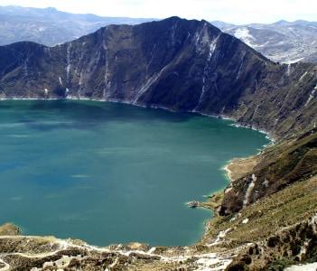 Vulcanic Lake near Latacunga