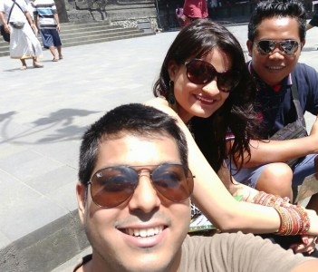 First Day for Honeymoon Holiday