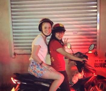 Riding a beautiful Aussi girl