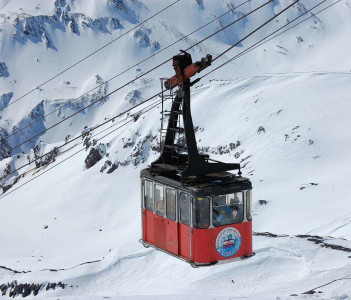 Cable Tram Mount Elbrus