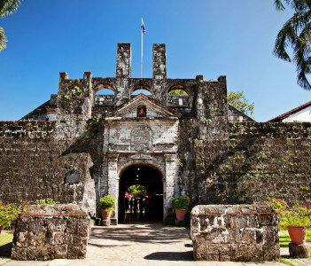 Stone Fort San Pedro in Philippines
