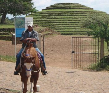 Riding at the Archaeological Site