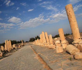 Decumanus Maximus, Umm Qais