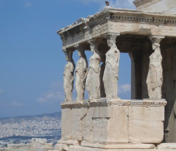 Karyatides monyment @ Acropolis
