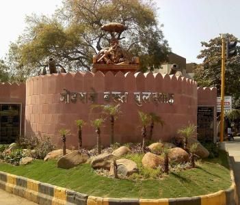 Statue of Gond Raje Bakht Buland Shah