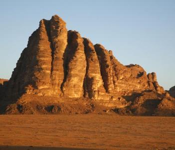 wadi rum mountain