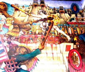 Otomi Warrior Tlahuicole dies a gladiators death