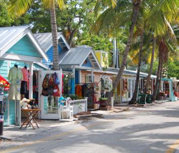 street in key west florida USA