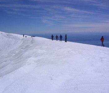 Rrim of Volcan Villarica