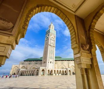 The Magnificent Hassan II mosque