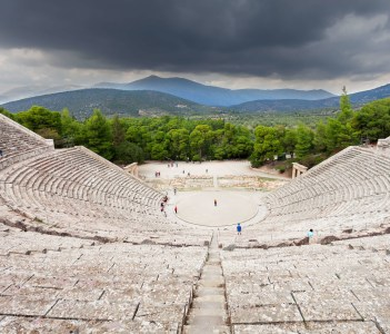 The Epidaurus Ancient Theatre, Greek City of Epidaurus