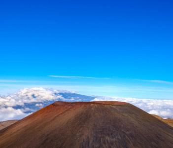 Volcanic Crater on Mauna Kea Hawaii USA