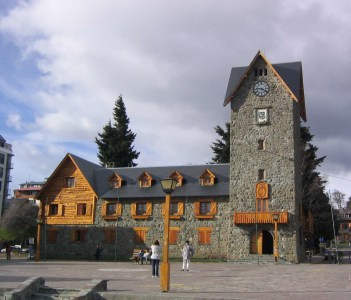 Town Hall in the Ski Resort of Bariloche