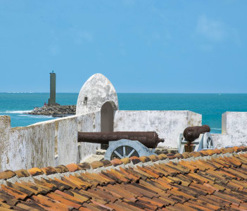 Forte dos reis magos the most antique colonial spanish fort building of Natal Brazil