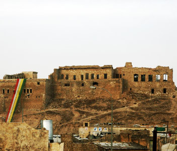 A view of the Citadel in Bagdad Iraq
