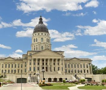 Kansas State Capitol in Topeka