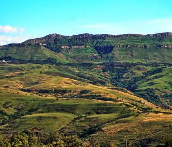 Van Reenen Pass near Estcourt South Africa